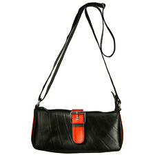 Karina-Recycled Tire Tube Shoulder Bag from El Salvador