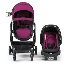 Car Seat Baby Stroller Combo for Girls Travel System Infant Carriage Purple Boy