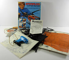 Spinwelder Copter Factory Mattel 1974 Helicopter Building Kit Heat Welding 7691