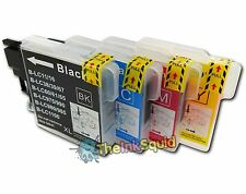 4 Compatible LC985 (LC39) Ink Cartridges for Brother DCP-J125 Printer