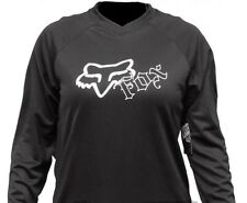 Fox Racing Women's HC Basic Black Jersey Size XL
