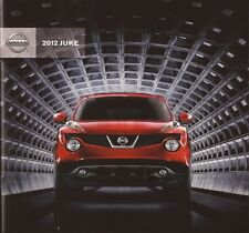 2012 12  Nissan Juke  original sales brochure