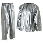 MEN WOMAN SAUNA SUIT FOR WEIGHT LOSS SLIMMING TRAINING EXERCISE SWEAT GYM HOME