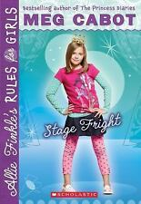 Allie Finkle's Rules for Girls: Stage Fright 4 by Meg Cabot (2010, Paperback)