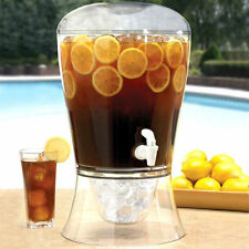 Large Drinks Dispenser Juice Ice Soft Drinks Cocktail Punch Beer Party 10 Pint