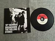 Rolling Stones CD Single 19th Nervous Breakdown / Sad Day Card Sleeve