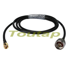 3FT WLAN RF pigtail SMA male plug to N type plug cable RG58 1m for wifi antenna