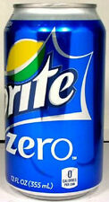 FULL NEW 12oz 355ml Can American Coca-Cola Sprite Zero USA New 2012 Packaging