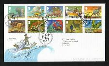 GB 2002 FDC Rudyard Kipling Just So Stories Tallents House postmark stamps