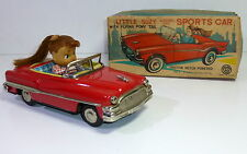 "Vintage Kanto Toys # 1950's ""Little Suzy driving her Sportscar""with Original Box"