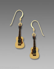 Sienna Sky Acoustic GUITAR EARRINGS STERLING Music Instrument - Gift Boxed