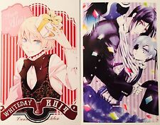 Kuroshitsuji Black Butler-CIEL SEBASTIAN ALOIS CLAUDE Postcard Photo Card Set #S