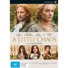 A LITTLE CHAOS-Kate Winslet, Matthias Schoenaerts-Region 4-New AND Sealed