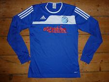 LINLITHGOW BFC FOOTBALL SHIRT scottish junior team SMALL matchworn shirt
