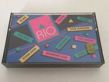 Avon Rock'n Rio 1988 Cassette New Don Johnson Elton John