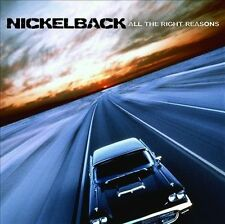 Nickelback Music CD - All The Right Reasons - Lot 6