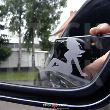 Pin up girl Miroir autocollant sexy sticker OEM Dub vag JDM Boobs seins old school
