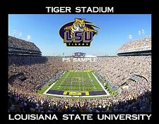 Louisiana - LSU TIGER STADIUM - Souvenir Flexible Fridge Magnet