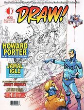 Draw Magazine #32 Howard Porter Jamal Ingle Ordway on Covers 2016 TwoMorrows