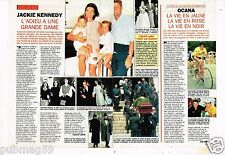 Coupure de presse 1994 (2 pages) Adieu Jackie Kennedy