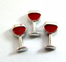 10pcs Wine Glass Floating charms For Glass living memory Locket FC0600