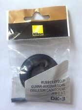 Genuine Nikon Japan Rubber DK-3 Eyepiece Eye Cup For FM3A FM2n FM2 FE2 FE FM FA