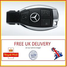 MERCEDES BENZ REMOTE KEY FOB 3 BUTTON CHROME A/B/C/CL/G/CLS/S CLASS