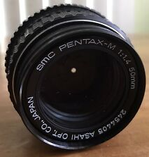 **Near MINT** Pentax SMC Asahi 50mm f1.4 Lens