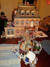 Playmobil 5300 Victorian dollhouse MANSION Christmas Wedding House Santa lot
