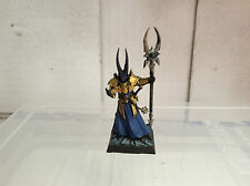 Warhammer Age of sigmar - Chaos Sorcerer painted Games workshop
