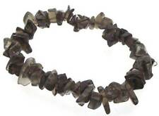 Smoky Quartz Gemstone Chip Bracelet