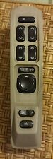 2003-2006 CADILLAC CTS OEM MASTER WINDOW SWITCH TAN BEZEL BLACK BUTTONS