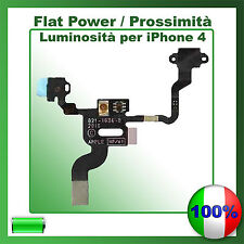 FLAT TASTO POWER ACCENSIONE PER IPHONE 4 SENSORE PROSSIMITA' FLEX ON OFF