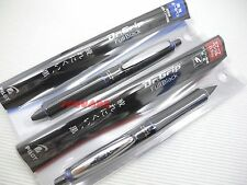 Pilot Dr. Grip Full Black 0.7mm Ballpoint pen and 0.5mm Mechanical Pencil, L