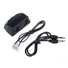 Dictaphone Telephone Phone Recording Adapter RJ11 for Digital Voice Recorder MA