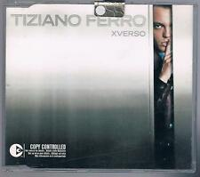 TIZIANO FERRO XVERSO CD SINGOLO SINGLE cds