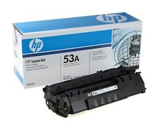 12 Virgin Empty Genuine HP 53A Laser Toner Cartridges for Refilling