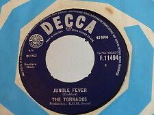 THE TORNADOS Jungle fever / telstar F11494