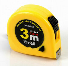 1X Ruler Pocket Retractable Tape Measure 3 Meter Free Shipping