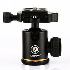 TARION Q06 Tripod Panoramic Ball Head + Quick Release Plate for DSLR Canon Nikon