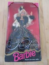 1993 NEW IN BOX GOLDEN WINTER BARBIE DOLL EVENING ELEGANCE GLITZ GLAM