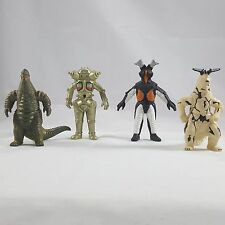 Ultraman Monster KAIJU Red King II King Joe Zetton & Eleking BANDAI 2005 Figures