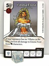 Marvel dice Masters - 3x #041 Emma Frost archvillain-the Uncanny X-Men