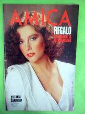 AMICA N°4-31 GENNAIO 1984.STEFANIA SANDRELLI