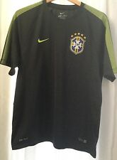Nike Men's Dri-Fit Brazil FIFA 2014 World Cup CBF Soccer Training Jersey Size L