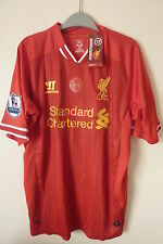 liverpool 2013/14 Gerrard 8 BNWTs Hillsborough never forgotten 96 justice shirt