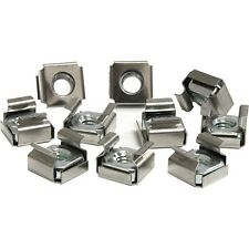 StarTech CABCAGENUTS6 50 Pkg M6 Cage Nuts for Server Rack Cabinet