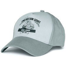 Volvo Construction Equipment Construction Series Wheel Loader Truck Gray Cap