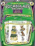Homework Helper: Vocabulary Development, Grade K by Carson-Dellosa Publishing...