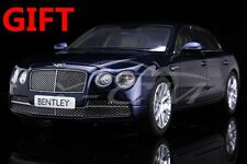 Car Model Bentley Flying Spur W12 Peacock (Blue) 1:18 + SMALL GIFT!!!!!!!!!!!
